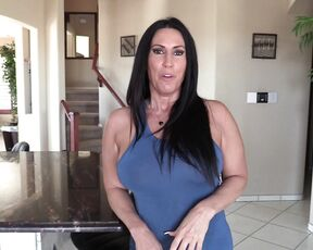 Fetish video with hot busty mom