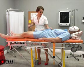 18 & 19 Yrs Old, Solo Masturbation, Nurse Play amateurboxxx handjob from psycho nurse natalie