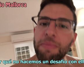 Home Video, Big Ass antonio mallorca try not to cum challenge