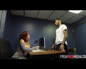 Latina, Milf freak mob media macana man fucks his probation officer
