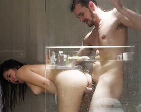 Shower Scenes, Anal, 18 & 19 Yrs Old gentle little jenny anal sex in the shower