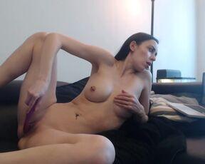 Brunette, Hidden Cam, Toys, Voyeur, Webcam alannavcams watching porn ManyVids