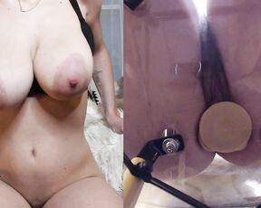 POV, Cowgirl, Riding, Huge Tits, Big Tits auroraxoxo dual view dick ride ManyVids