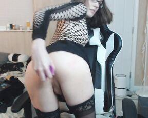 Anal, Anal Masturbation, Gaping, Nerdy Girls, Transgender flammableoil cute trans girl gapes for camera ManyVids