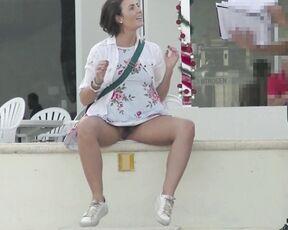 Upskirt, Exhibitionism, Public Nudity, Public Flashing, Voyeur helenas cock quest my cock quest 1 pt1 im upskirt queen ManyVids