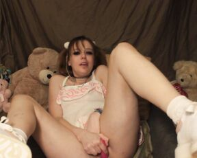 18 & 19 Yrs Old, Age Play, Age Regression, Orgasms, Role Play lil loli p--k on cummy time with loli ManyVids