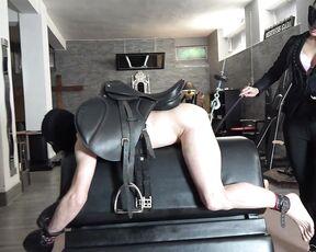 mistress gaia mistress gaia ball abuse pony training hd Manyvids