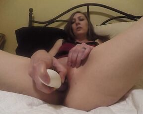 tish addams first time trying my ina wave toy Manyvids