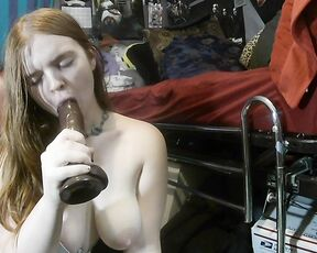 BBC, Redheads, PAWG, Gagging, Blowjob velvet diablo gagging all over your bbc ManyVids