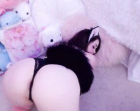 Blowjob, Cumshots, Cum In Mouth, Masturbation, POV autumnvondoe master gives kitten cream ManyVids