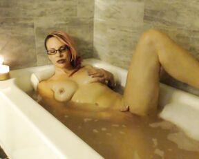 Bathtub Fetish, Wet Look, JOI, Masturbation Instruction, Masturbation Encouragement naughty vicky vixxx bath time joi ManyVids