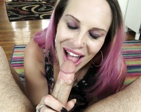 Blow Jobs, Blowjob, Deepthroat, Cumshots, Cum Play naughty vicky vixxx trying to resist your wifes sister ManyVids