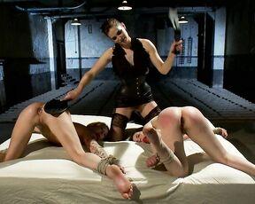 Lesbians, Anal, Bondage, Hardcore, BDSM, Strapon Bobbi Starr, Jessie Cox & Juliette March. For Bobbi Starrs Satisfaction SiteRip