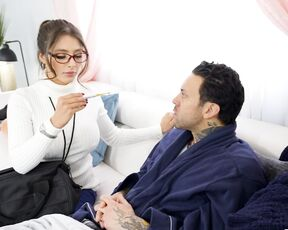 Latina, Fake Tits, Blowjob, Hardcore, Nurse Tru Kait - Corrupting The Cute Caregiver SiteRip