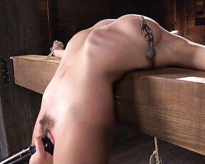 Roxanne Rae Hogtied 2016.09.01 College GirlPain Slut Suffers in EXTREME Bondage & Brutal Domination 720p Mix