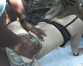 HotGold Mature Orgy With Black Men On The Beach-ForeverAloneDude HotGold