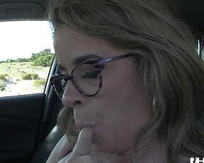 HotGold Mature Masturbates In Car-ForeverAloneDude HotGold
