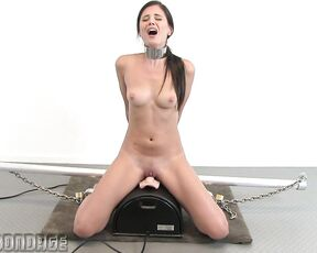 Sybian, Metal Bondage, Steel, Humiliation, BDSM, No Escape MB491 Little Caprice SiteRip